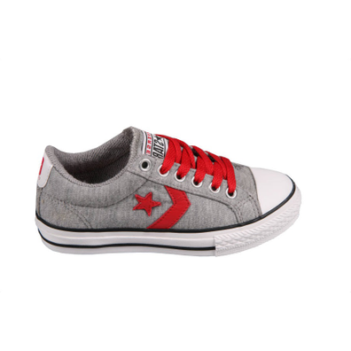 Converse - Star Player EV Grey/Red - 32 productafbeelding