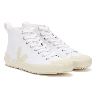 Veja Nova High Top Womens White / Black Trainers productafbeelding