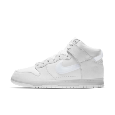Slam Jam X Nike Dunk High 'Clear White' productafbeelding