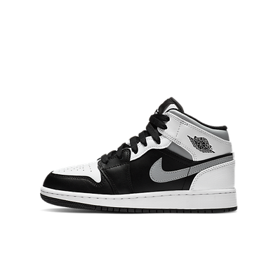 Air Jordan 1 Mid GS 'White Shadow' productafbeelding