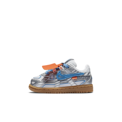 Off-White X Nike Rubber Dunk TD 'University Blue' productafbeelding