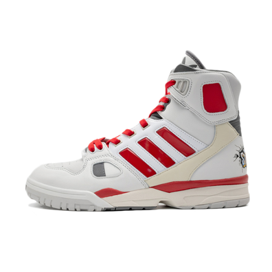 Kid Cudi X adidas Torsion Artillery 'White/Red' productafbeelding