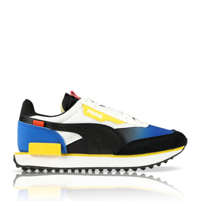 Puma Future Rider Space Lapis Blue/White GS productafbeelding