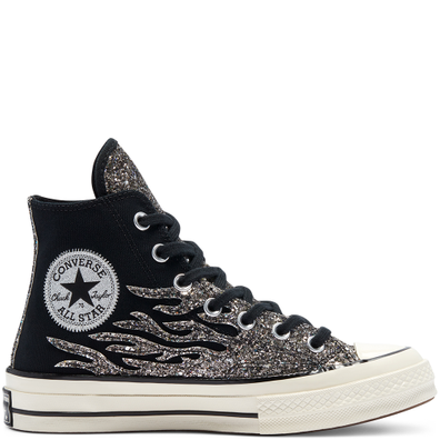 Glitter Shine Chuck 70 High Top voor dames productafbeelding