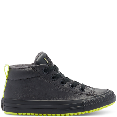 Leather & Reflective Chuck Taylor All Star Street Boot productafbeelding