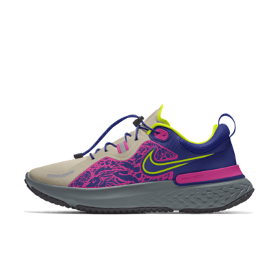 Nike React Miler Shield By You Custom productafbeelding