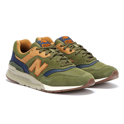 New Balance 997H Mens Dark Green Trainers productafbeelding