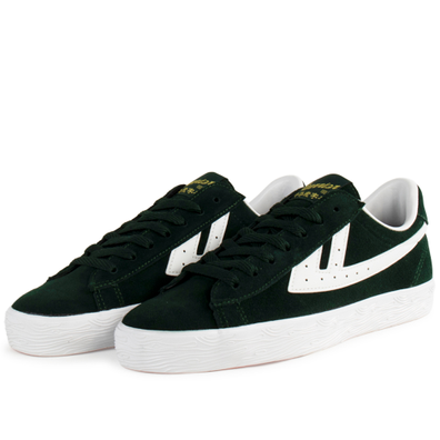 Warrior Dime Suede 'Green/White' productafbeelding