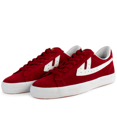 Warrior Dime Suede 'Red/White' productafbeelding