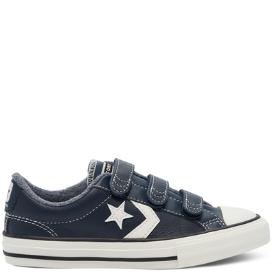 Leather Easy-On Star Player Low Top productafbeelding