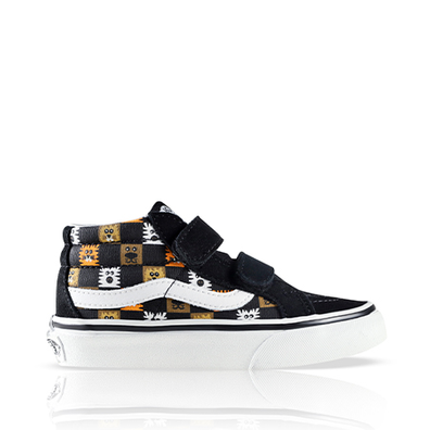 Vans Sk8-Mid Animal Checkerboard PS productafbeelding