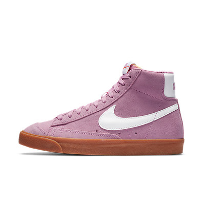 Nike Blazer Mid 77 Pink White Gum (W) productafbeelding