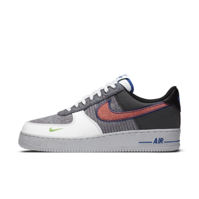 Nike Air Force 1 NRG Recycled Pack 'Grey/Purple' productafbeelding