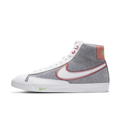 Nike Blazer Mid NRG Recycled Pack 'Grey/Red' productafbeelding