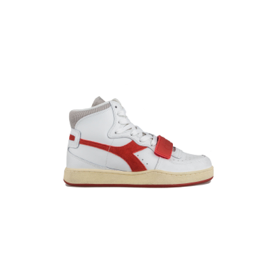 Diadora Mi Basket Used Red productafbeelding