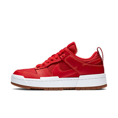 Nike Dunk Low Disrupt 'Red' productafbeelding