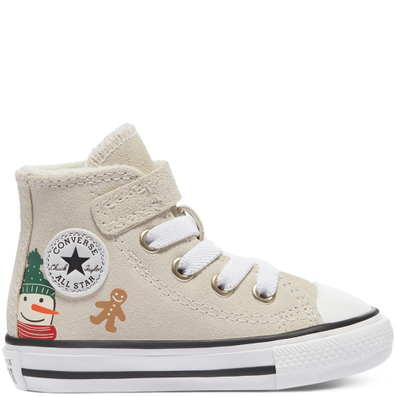 Winter Holidays Easy-On Chuck Taylor All Star High Top productafbeelding