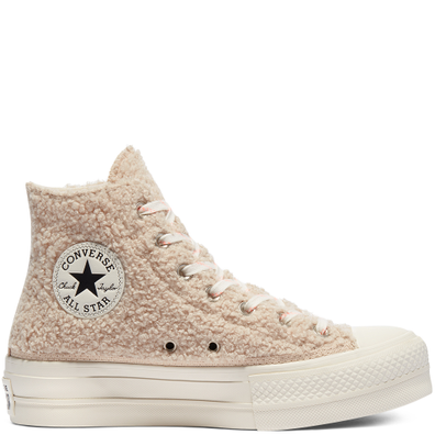 Cozy Club Platform Chuck Taylor All Star High Top productafbeelding