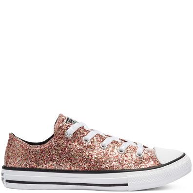 Coated Glitter Chuck Taylor All Star Low Top productafbeelding