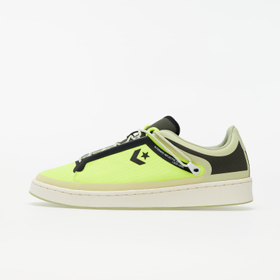Converse Pro Leather OX Lemon Venom/ Black/ Egret productafbeelding