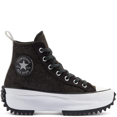 Unisex Black Ice Run Star Hike High Top productafbeelding