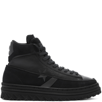 Unisex Black Ice Pro Leather X2 High Top productafbeelding
