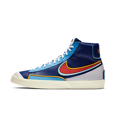 Nike Blazer Mid 77 D/MS/X Deep Royal Blue productafbeelding