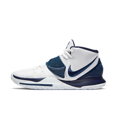 Nike Kyrie 6 Team White Midnight Navy productafbeelding