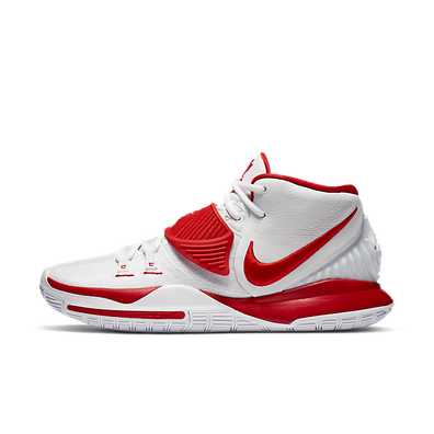 Nike Kyrie 6 White University Red productafbeelding