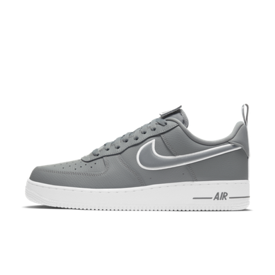 Nike Air Force 1 Patches 'Grey' productafbeelding