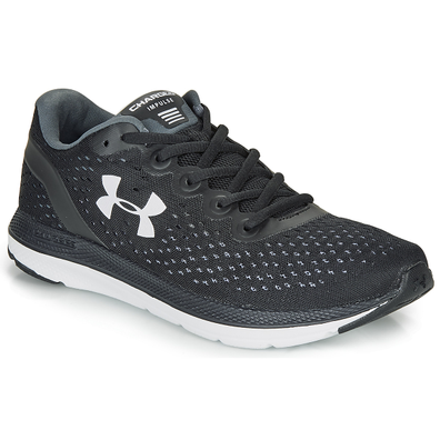 Under Armour  CHARGED IMPULSE  men's Running Trainers in Black productafbeelding