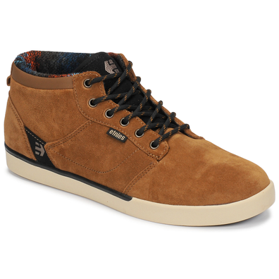 Etnies  JEFFERSON MID  men's Skate Shoes (Trainers) in Brown productafbeelding