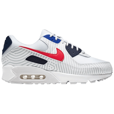Nike Nike Air Max 90 GS Wit productafbeelding