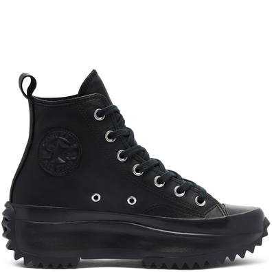 Monocolor Leather Run Star Hike High Top productafbeelding