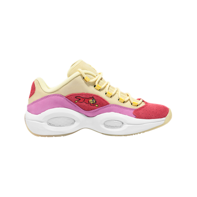 Reebok Question Low BBC Ice Cream Running Dog Yellow Red productafbeelding