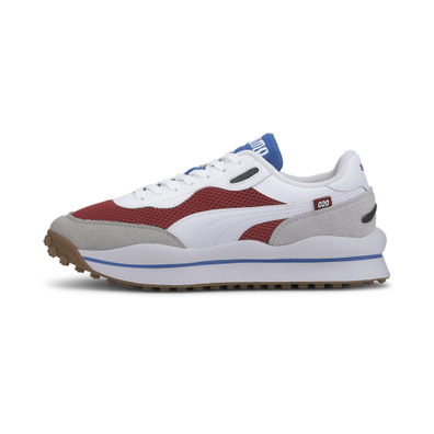 Puma Style Rider Warm Texture Red Dahlia-Puma White productafbeelding