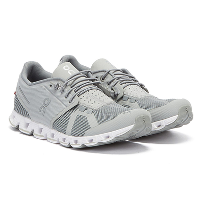 On Running The Cloud Womens Slate Grey Trainers productafbeelding