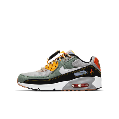 Nike Air Max 90 Buckle Spiral Sage (GS) productafbeelding