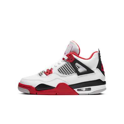 Air Jordan 4 Retro GS 'Fire Red' productafbeelding