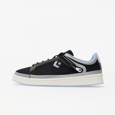 Converse Pro Leather OX Black/ Serenity/ Egret productafbeelding