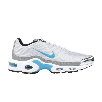 Nike Air Max Plus Quilted Pure Platinum Marina Blue (W) productafbeelding