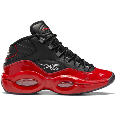 Reebok Question Mid 76ers Bred productafbeelding