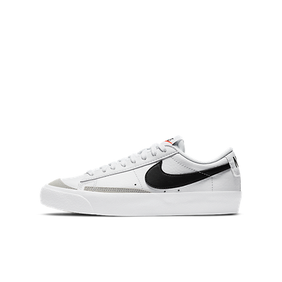 Nike Blazer Low 77 Vintage White Black (GS) productafbeelding