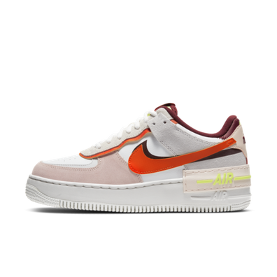Nike Air Force 1 Shadow 'Team Red & Volt' productafbeelding