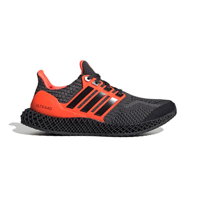 adidas Ultra 4D Core Black Solar Red productafbeelding