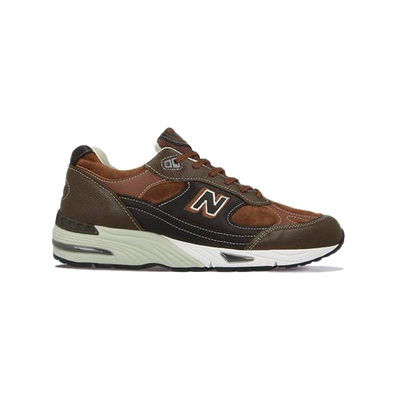 New Balance 991 Made in UK Brown productafbeelding