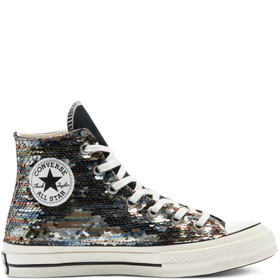 Chuck 70 Sequins High Top productafbeelding