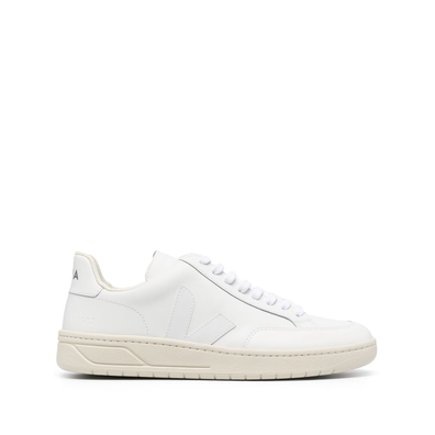Veja V-12 leather low-top productafbeelding
