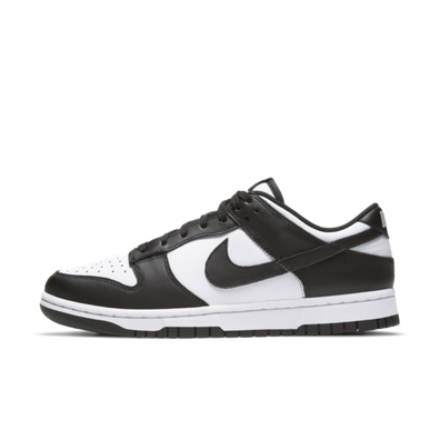 Nike WMNS Dunk Low 'Black/White' productafbeelding