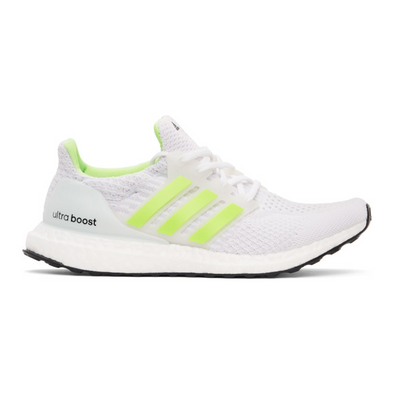 adidas Ultra Boost 5.0 DNA Cloud White Signal Green productafbeelding